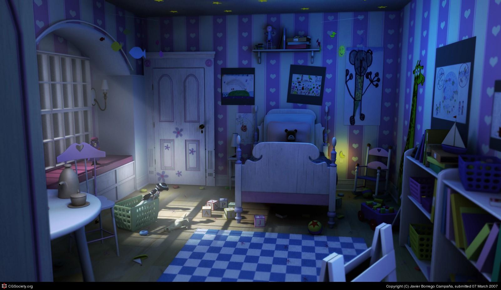 Sources httpwwwcgsocietyorgcgsarchivenewgallerycritsg522034522034521173281244largejpg The Bedroom Scene